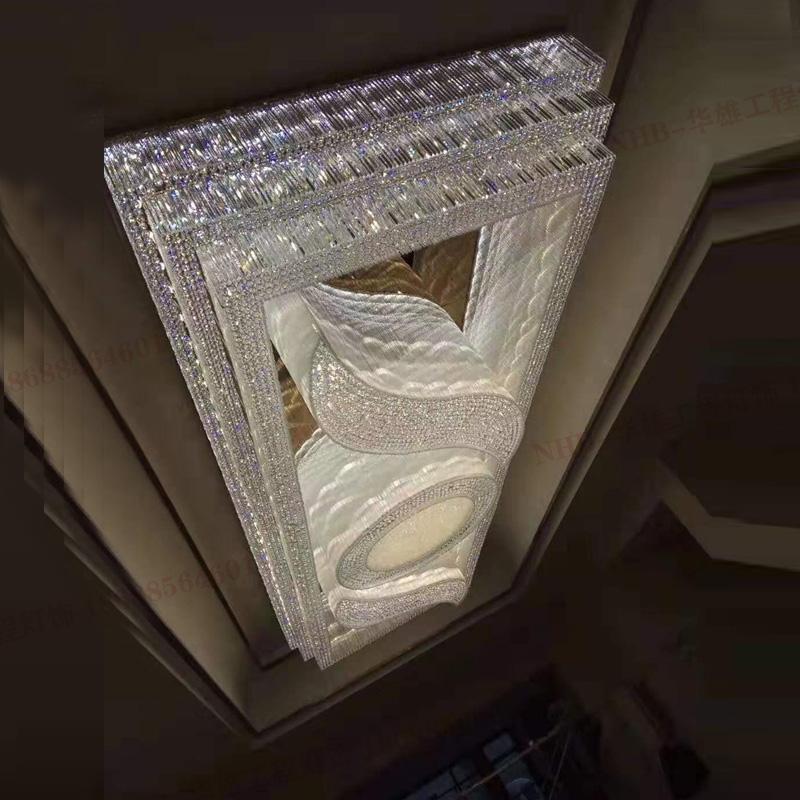 酒店休息室会议厅水晶灯