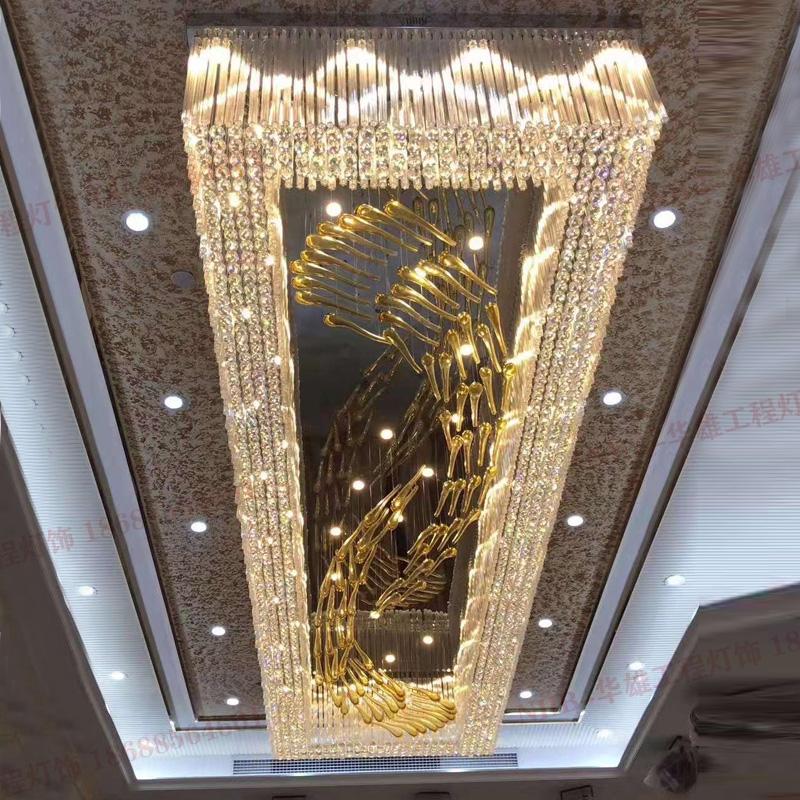 过道走廊电梯间水晶吸顶灯