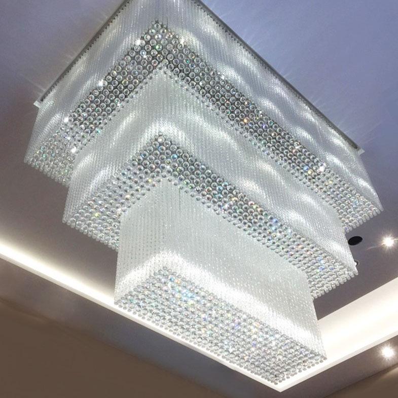 浙江售楼部大厅水晶灯