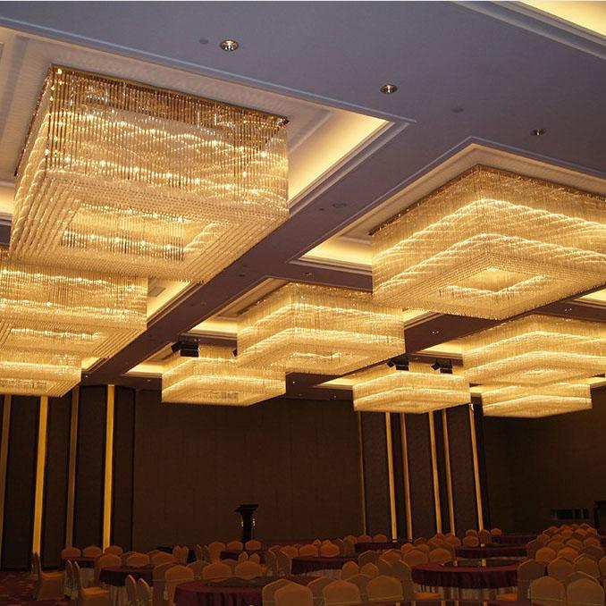 宴会厅水晶灯