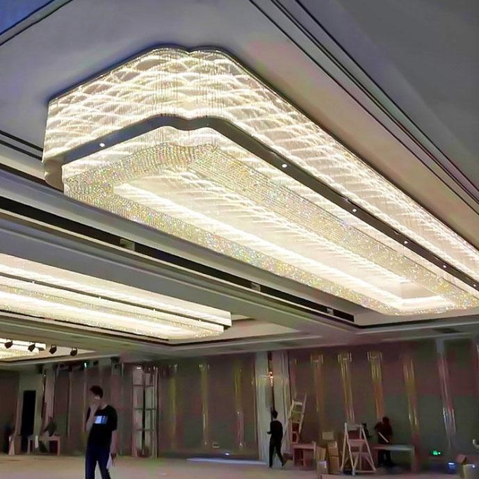 宴会厅水晶吸顶灯