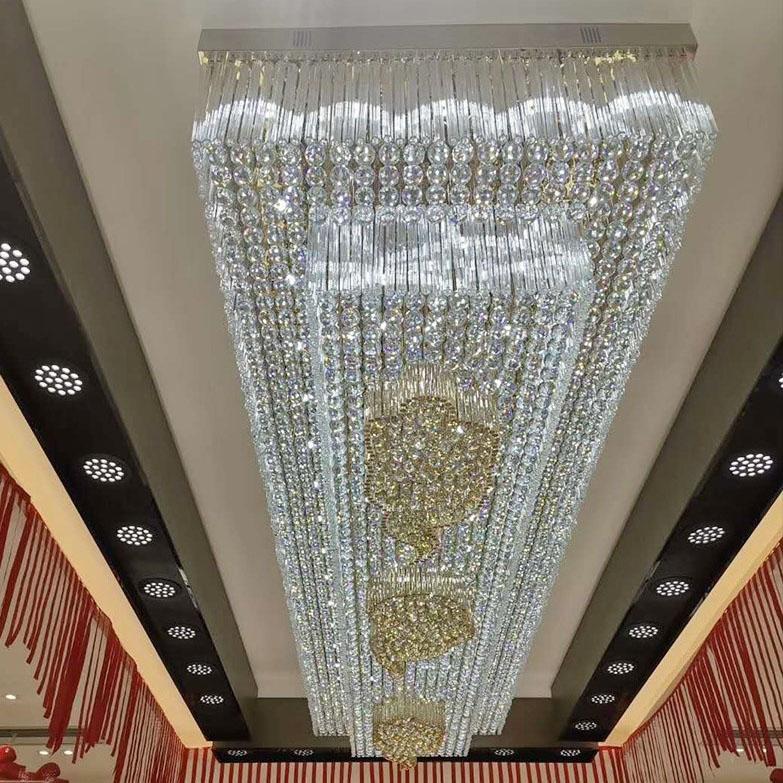 大厅水晶吸顶灯
